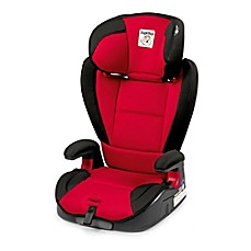 image of peg perego viaggio hbb 120 booster seat in rouge