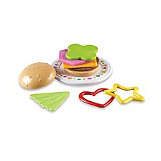 image of Learning Resources Bright Bites™ Burger Shapes