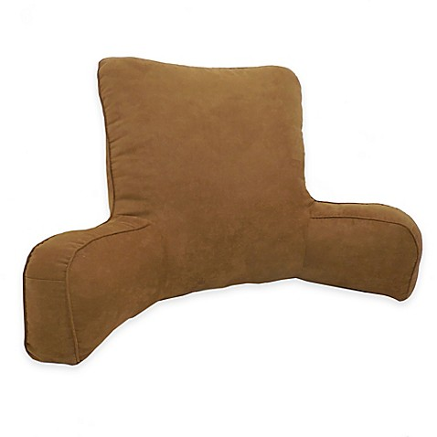Buy Arlee Home Fashions 174 Suede Oversized Backrest Pillow