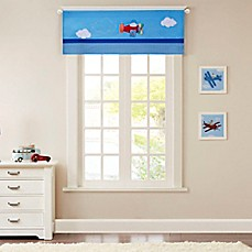 image of Mi Zone Kids Totally Transit Window Valance in Blue