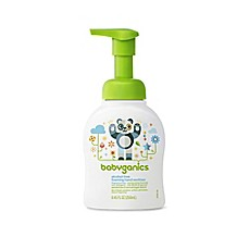 image of Babyganics® 8.45 oz. Fragrance-Free Alcohol-Free Foaming Hand Sanitizer