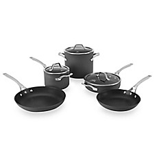 image of Calphalon® Signature™ Nonstick 8-Piece Cookware Set and Open Stock