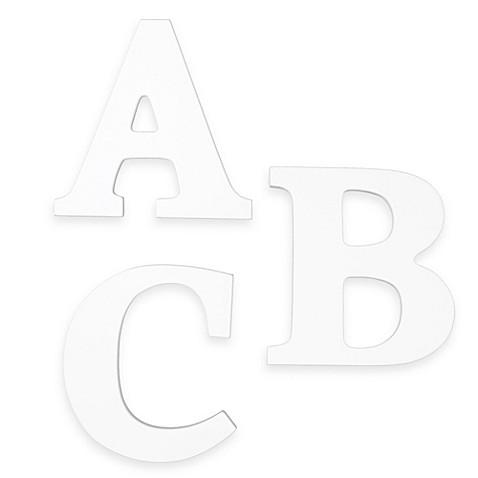 kidkraft wooden letters white bed bath beyond