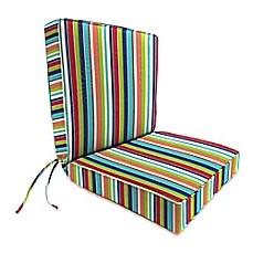 Outdoor Seat Cushion Collection In Sunbrella Carousel Confetti