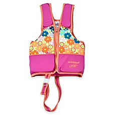 image of Aqua Leisure® SwimSchool® Printed Swim Vest in Pink