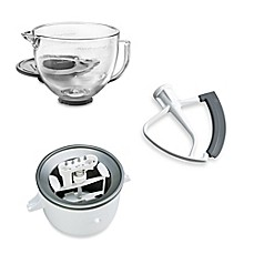 image of KitchenAid® 5-Quart Artisan™ Custom Metallic Stand Mixer Accessories Collection