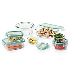image of OXO Good Grips 16-Piece Glass Food Storage Set