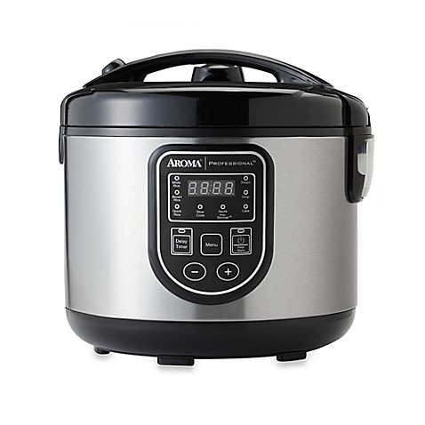 aroma professional 20 cup rice cooker bed bath beyond. Black Bedroom Furniture Sets. Home Design Ideas