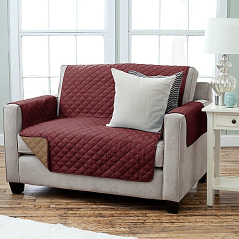 Kaylee Collection Reversible Loveseat Size Furniture Protectors Bed Bath Beyond