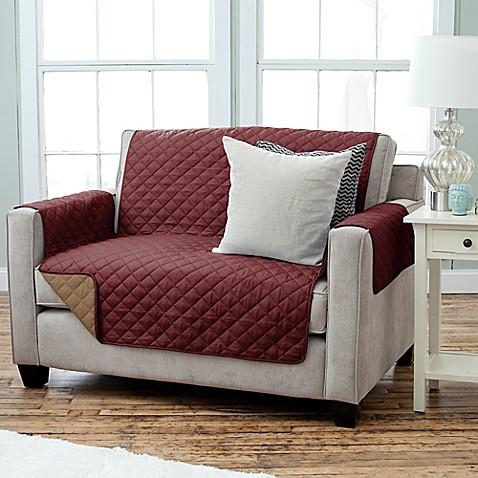 Kaylee Collection Reversible Loveseat Size Furniture