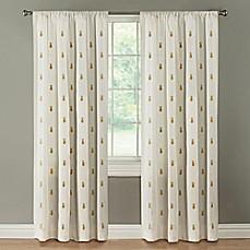 Palm Springs Rod Pocket Window Curtain Panel