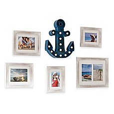 image of Wall Solutions 6-Piece Anchor and Frame Set