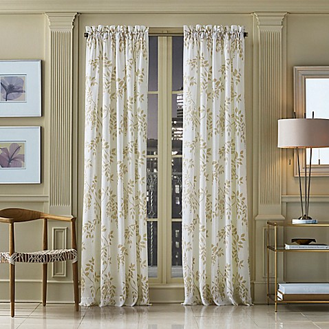 Buy j queen new york winslow 95 inch botanical print for Curtains and drapes nyc