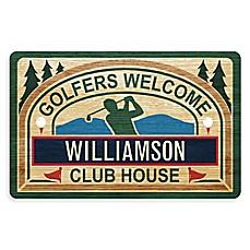 Weather Guard™ 18 Inch X 27 Inch Golferu0027s Tavern Welcome Mat