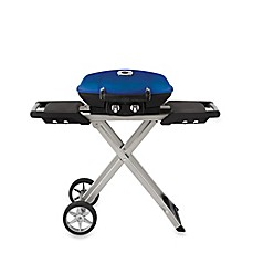 Image Of Napoleon TravelQ™ PRO285 Portable Propane Grill With Scissor Cart
