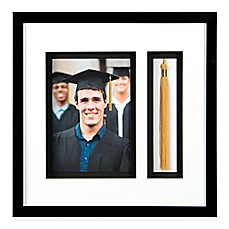 image of PhotoGuard 11-Inch x 11-Inch Graduation Memories Collage Frame in Black