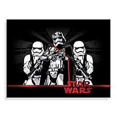 Image Of Phasma And Stormtroopers Star Wars® Logo Wall Art