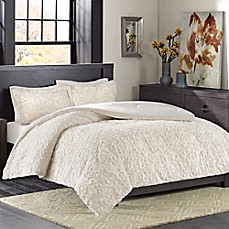image of Madison Park Bismarck Ultra Plush Comforter Set