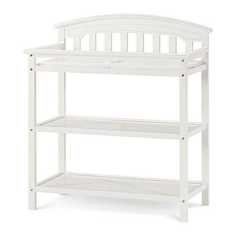 child craft wadsworth changing table in matte white. Black Bedroom Furniture Sets. Home Design Ideas