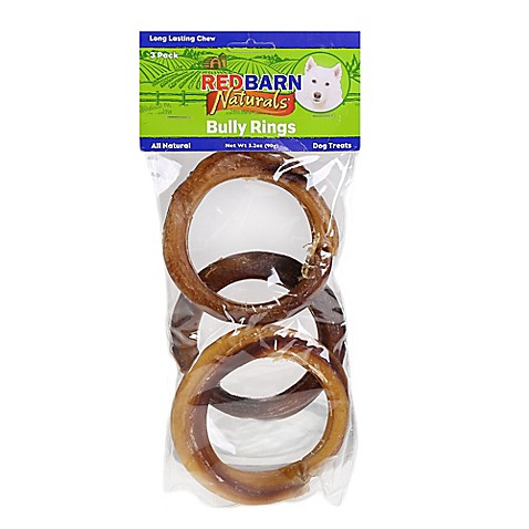 buy redbarn 3 pack bully rings dog treat from bed bath. Black Bedroom Furniture Sets. Home Design Ideas