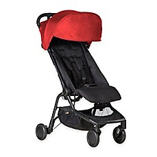 image of Mountain Buggy® Nano Travel Stroller in Ruby