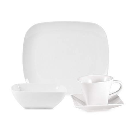 Everyday Whiteu0026reg; by Fitz and Floydu0026reg; Rectangular Dinnerware Collection  sc 1 st  Bed Bath u0026 Beyond & Everyday White® by Fitz and Floyd® Rectangular Dinnerware Collection ...