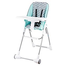 image of Evenflo® Symmetry™ High Chair in Spearmint Spree