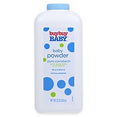 image of buybuy Baby™ 22 oz. Baby Powder Pure Cornstarch with Aloe Vera and Vitamin E