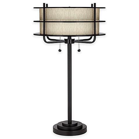 Pacific coastr lighting kathy ireland ovation lamp for Lamp and light ireland
