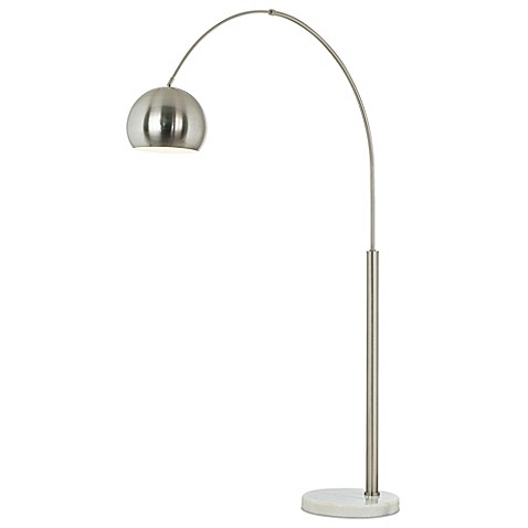 Pacific Coast 174 Lighting Basque Floor Arc Lamp In Brushed