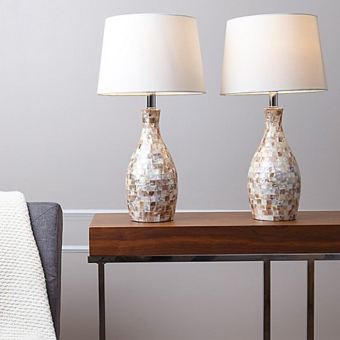 Abbyson living mother of pearl table lamp set of 2 bed bath abbyson livingreg mother of pearl table lamp set aloadofball Choice Image