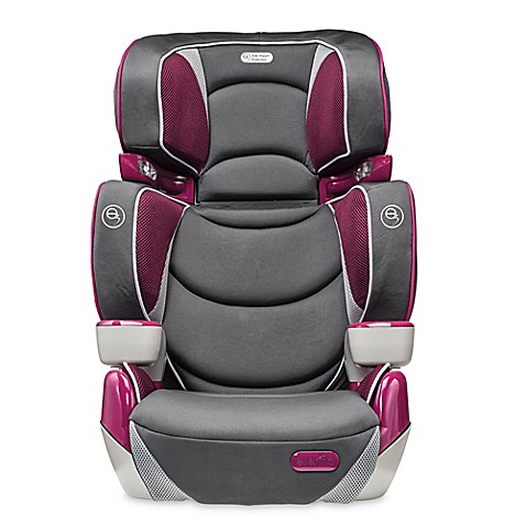 evenflo rightfit booster car seat in hollyhock buybuy baby. Black Bedroom Furniture Sets. Home Design Ideas