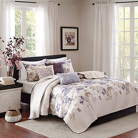 quilts comforter quilt dp piece amherst set com park king ac aqua madison amazon