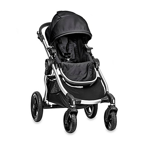 image of Baby Jogger® City Select Single Stroller in Onyx/Silver