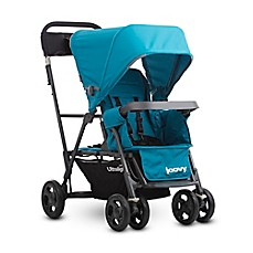 image of Joovy® Caboose Ultralight Graphite Stand-On Tandem Stroller in Turquoise