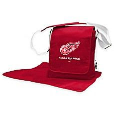 image of Lil Fan NHL Messenger Diaper Bag Collection