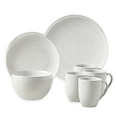 image of Tabletops Gallery® Adams 16-Piece Coupe Dinnerware Set