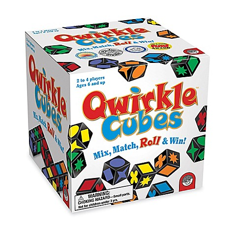 Qwirkle Cubes Childrens Game Bed Bath Beyond