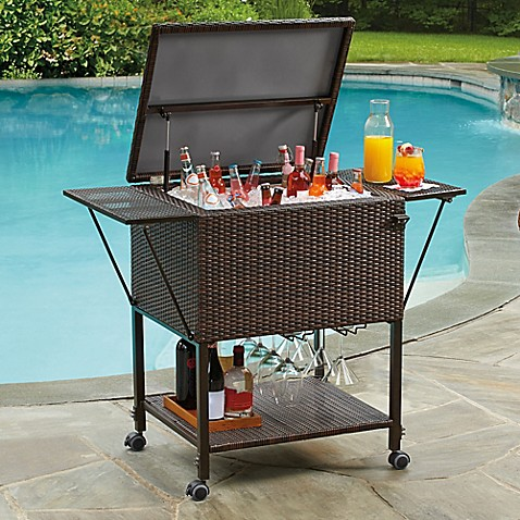 Lovely Stratford Insulated Cooler Cart