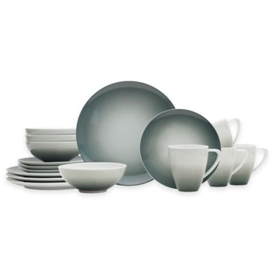 image of Mikasa® Naya 16-Piece Dinnerware Set in Grey Ombré
