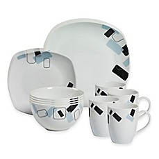 Image Of Tabletops Gallery® Dean 16 Piece Square Dinnerware Set