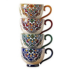 image of Tabletops Unlimited® Gallery Kenitra Footed Mugs (Set of 4)