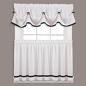 Attractive Kate Window Curtain Panel And Valance