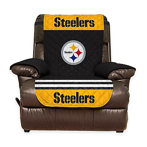 NFL Pittsburgh Steelers Recliner Cover  sc 1 st  Bed Bath u0026 Beyond & NFL Pittsburgh Steelers Recliner Cover - Bed Bath u0026 Beyond islam-shia.org