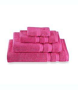 Toalla facial Kate spade new york Chattam Stripe®, en rosa