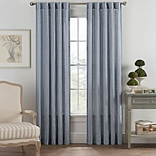 image of Bayport Fringe Rod Pocket/Back Tab Window Curtain Panel