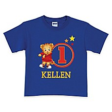 image of Daniel Tiger's Neighborhood Age T-Shirt in Royal Blue