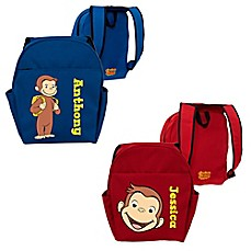 image of Curious George Funny Face Toddler Backpack