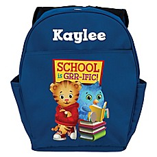 image of Daniel Tiger's Neighborhood Daniel and O Toddler Backpack in Blue