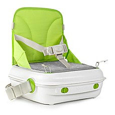 image of benbat™ YummiGo™ Portable Booster Seat in Green/Gray